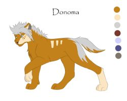 Character sheet1 - Donoma by it-ktdf