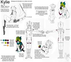 Character sheet - Kylie by Huispe