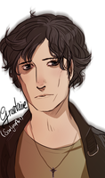 LesMis: modern Grantaire by SarlyneART