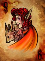 Orange Queen of Hearts by Nidaou