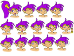 Paragon's Shantae Gallery Lil_shantae_emotion_collection_by_paragonofsonamy-d4rt7y6