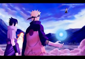 Naruto Manga 642 Don't mess with my father by ChekoAguilar