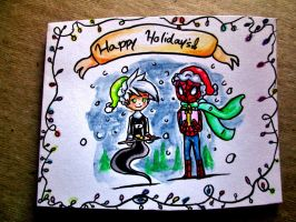 Holiday card project by MidnightsBloom