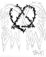 The Heartagram by WrongSideofYourBed