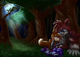 :commission: lunar-reminiscence by Paumol