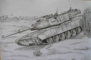Abrams M1A2 by Ikarus-001