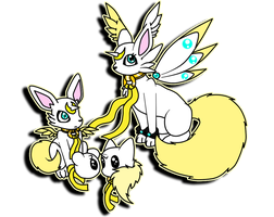 Fennecmon the Fennec Fox Digimon by Inakamon