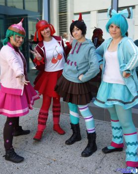 wreck it ralph: you can't sit with us by lulukohime
