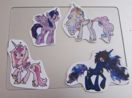 [Stickers] Corruption : Princesses [For Sale] by RicePoison
