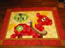 Big Macintosh Quilt by jysalia
