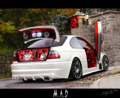 Bmw M3 - White Blood by maddinc