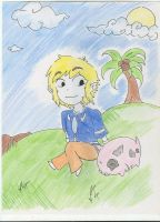 A Boy and his Pig XD by TunaTetrazzini