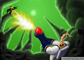 Earthworm Jim by MoogleyMog