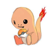 Pokesketch 004 Charmander by Cdinorawr