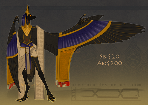 Haroth Auction: Anubis [Closed] by Aivomata