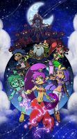 Shantae: the Half Genie Hero! by SuperCaterina
