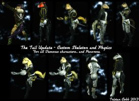 UT3 Character Tail Update by Tristikov