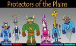 Protectors of the Plains by Lordwormm