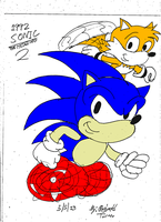 Sonic The Hedgehog 2 by reg92