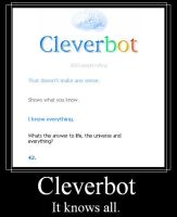 Cleverbot knows all by Blissful-DeathTrap
