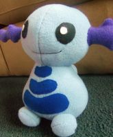 Wooper Plush Comish - Jaydono by Sparkle-And-Sunshine