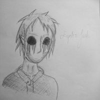 Another Eyeless Jack sketch by KrikzuPWI