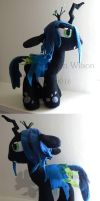 Queen Chrysalis complex Plush MLP:FIM by elfy016