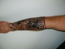 polinesian tattoo by bunia115