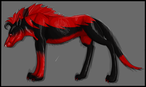 Maned Canine Auction (Open) by YukiAlecCross28