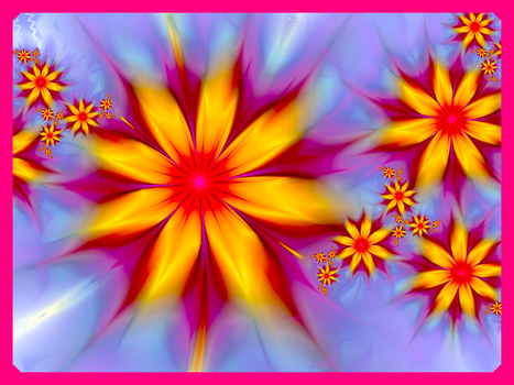 The Flower of the Hour by Fractalsmurf-Gismo