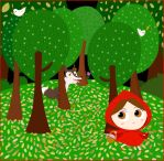 Little Red Riding Hood by violetametalico