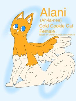 Alani the Cookie Cat (MYO event) by Noki234