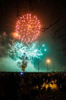 Stanley Fireworks Festival by CryogenicCactus