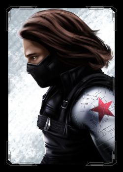 Avengers Winter Soldier by NZO68