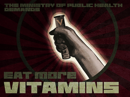 eat more vitamins by pyros