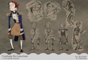 Les Miserables - M. Thenardier by MarionetteDolly
