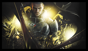 Mass Effect signature. by LaurensHebberecht