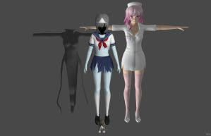'Yandere Simulator' Pack 3 XPS ONLY!!! by lezisell