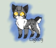 :: TcotV :: Eaglecry chibi by TheClansOf-TheValley