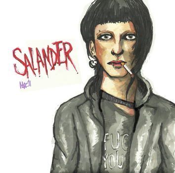 salander by sleepinggiants