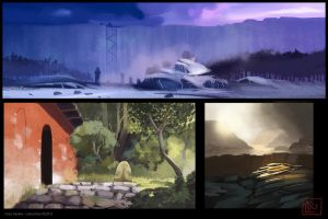 Color Studies 2 by leticiakao