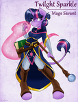 Adventuring is Magic: Twilight Sparkle by Ambris