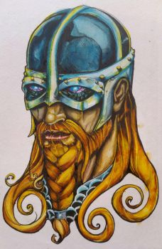 Thunder god by BobbyJackWright