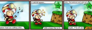 Captain Toad can't jump!! by SuperLakitu