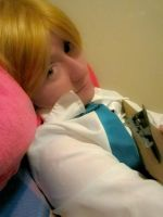 Dani Cosplaying as Nathaniel from Mycandylove by jessthecase88