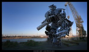 James Brett - J Mech 5 by JamesBrett