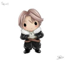 Chibi Squall by capsicum