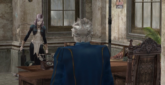 You have a call,Vergil by Hatredboy