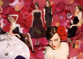 Wallpaper - EMMA STONE by DarinaBerry