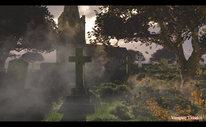 The Grave Yard by Vampire-Echidna